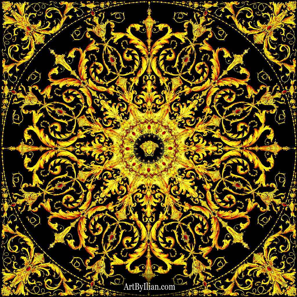 Designer Wallpaper from the Versace Home Collection