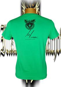 Back side. Medusa with artist's signature
