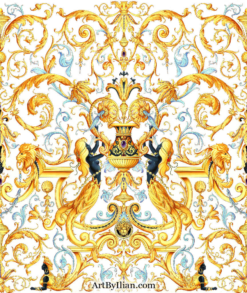 Images Of Versace Wallpaper For Walls Spacehero