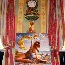 Exhibition in Palazzo Birago. Turin, Italy