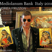 Exhibition in Mediolanum Bank in Turin.Italy 2010
