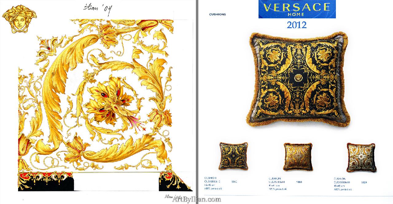 Ilian rachov for versace le grand divertissement barocco created in 2004 - Versace home design ...