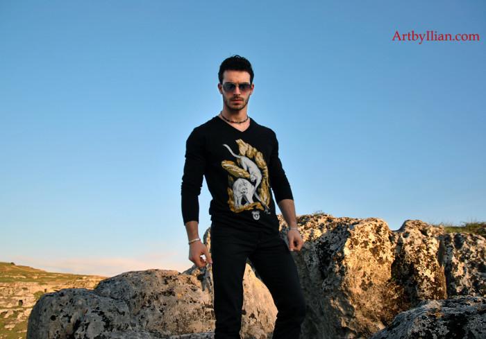 Photo Shooting Puma Collection  Model: Angelo Saponaro  Location: Matera, Italy  Photo and Post production: LVIProduction
