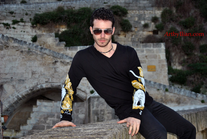Photo Shooting Puma Collection by Ilian Rachov. Model: Angelo Saponaro Location: Matera, Italy Photo and Post production: LVIProduction