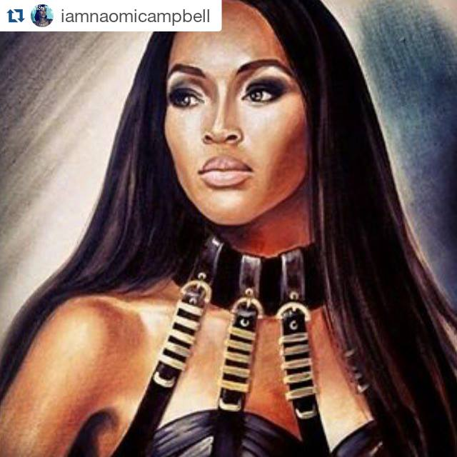 Naomi Campbell on Instagram