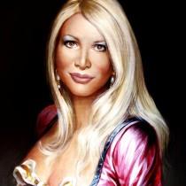 Barbara Castellani ritratta da Ilian Rachov