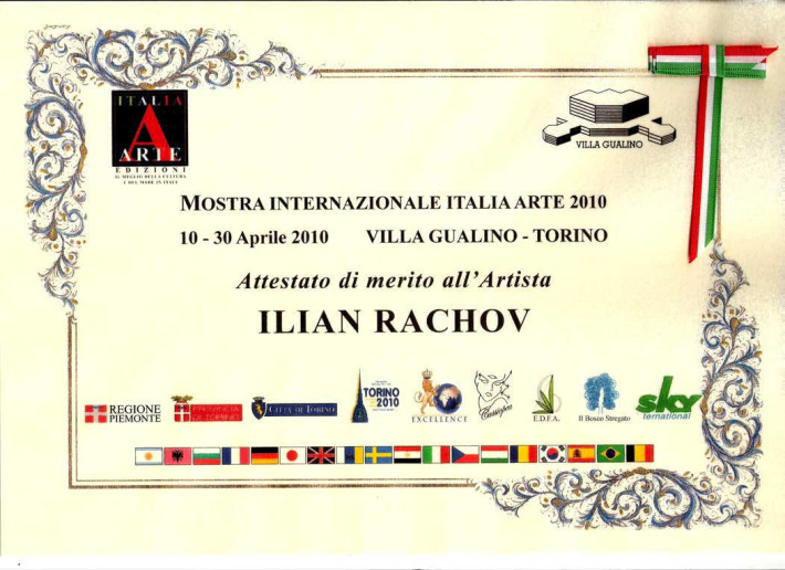 INTERNATIONAL ART PRIZE Italia Arte 2010