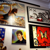 Exhibition at Artifex Style and Design Showroom in Turin.Italy 2009