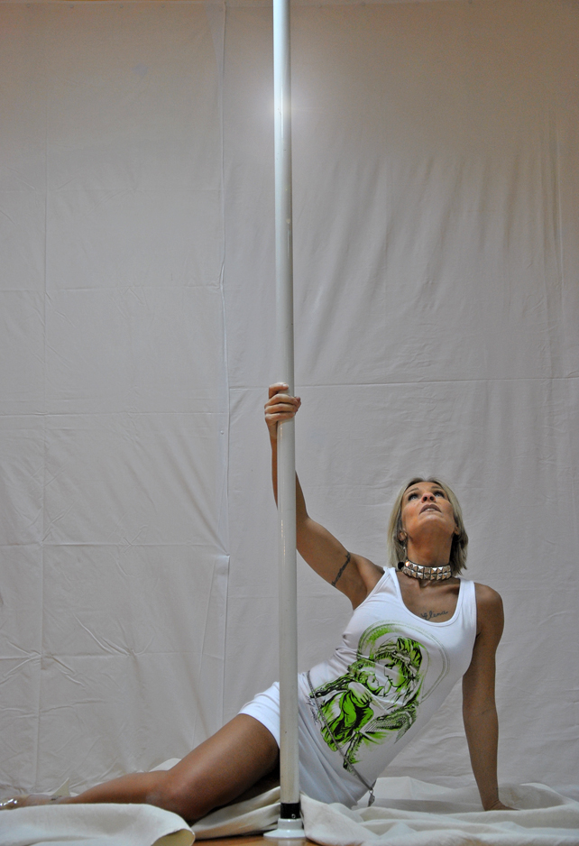 Cristina Cortese Pole Dance Torino for Ilian Rachov