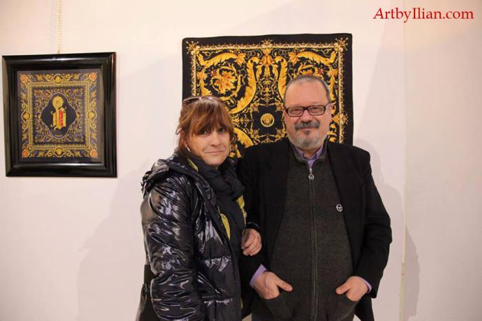 Flavia Groppo e Andrea Prizzon