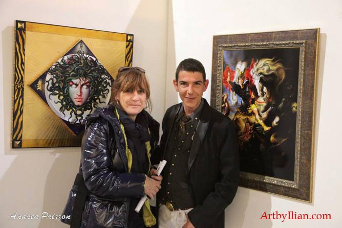 Ilian Rachov Artist e Flavia Groppo