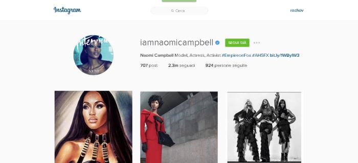 Naomi Campbell iamnaomicampbell • Foto e video di Instagram