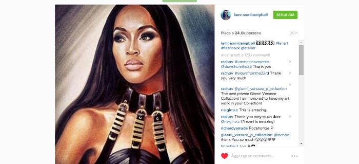 Naomi Instagram page