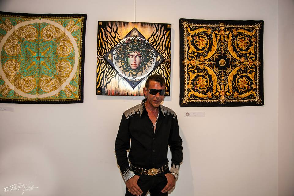 EXHIBITION- FASHION ART 2015 Art Gallery Carré Doré Monaco « Tribute to Gianni Versace »  22 July - 10 September 2015  Photo by Patrick Varotto - www.photovarotto.com